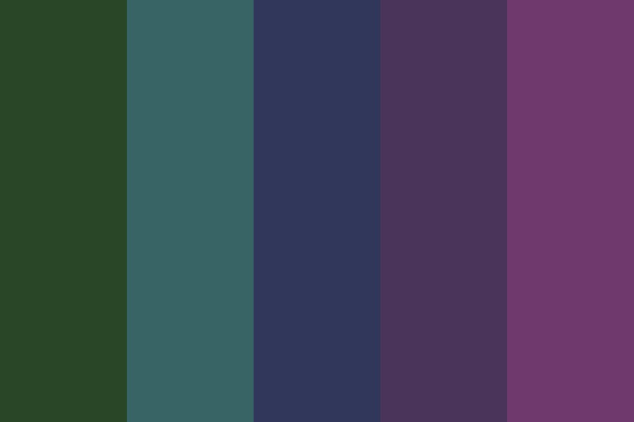 Dark And Gloomy Color Palette