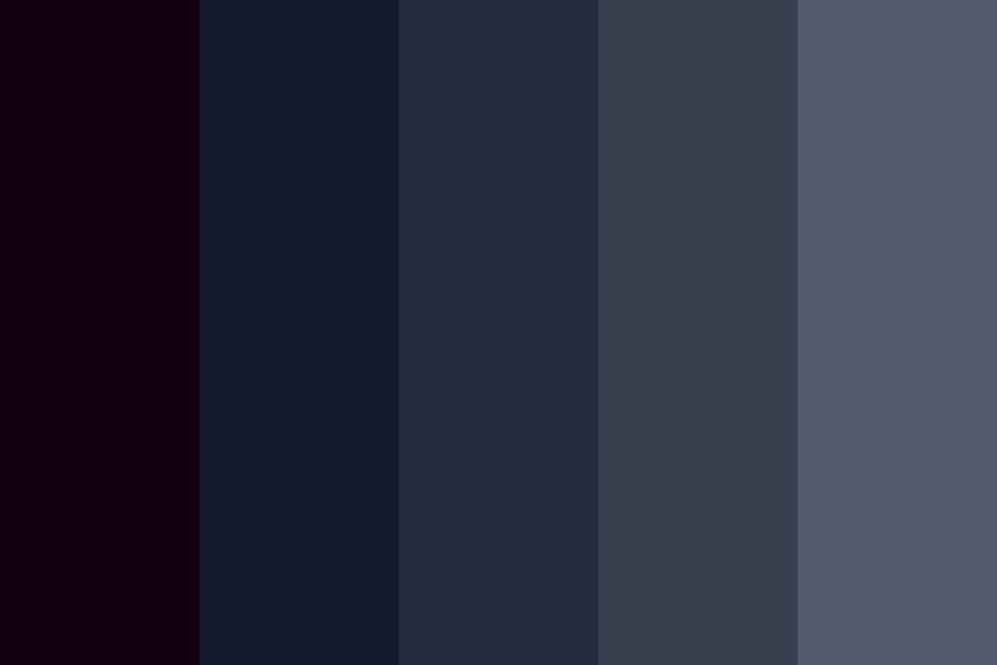Dark And Harmonious Color Palette