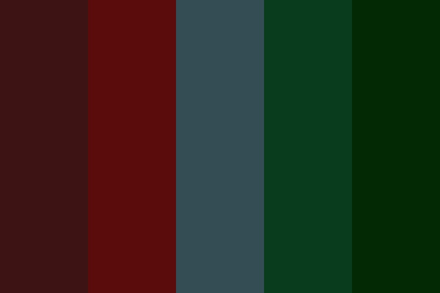 Dark And Muted Primary Color Palette