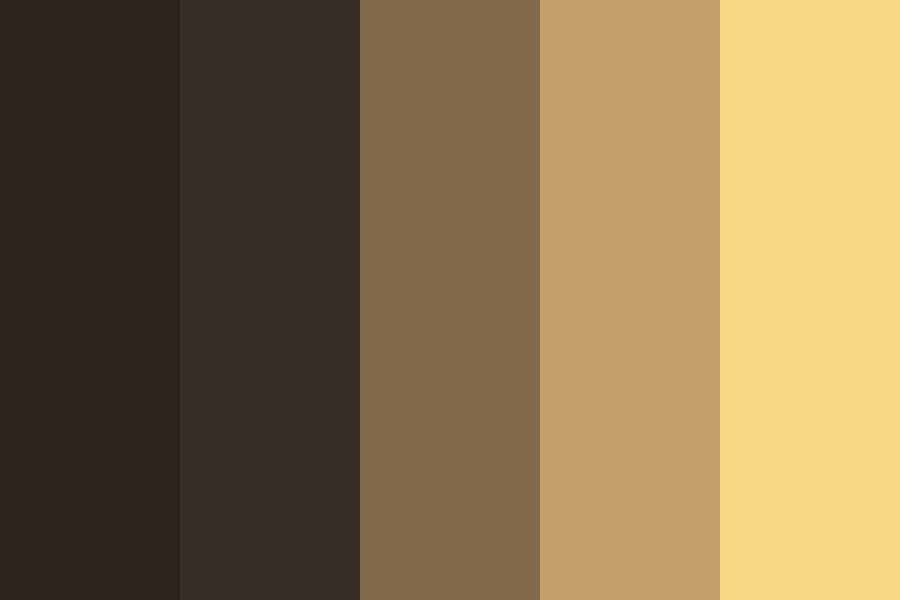 Dark Chocolate Manor Color Palette