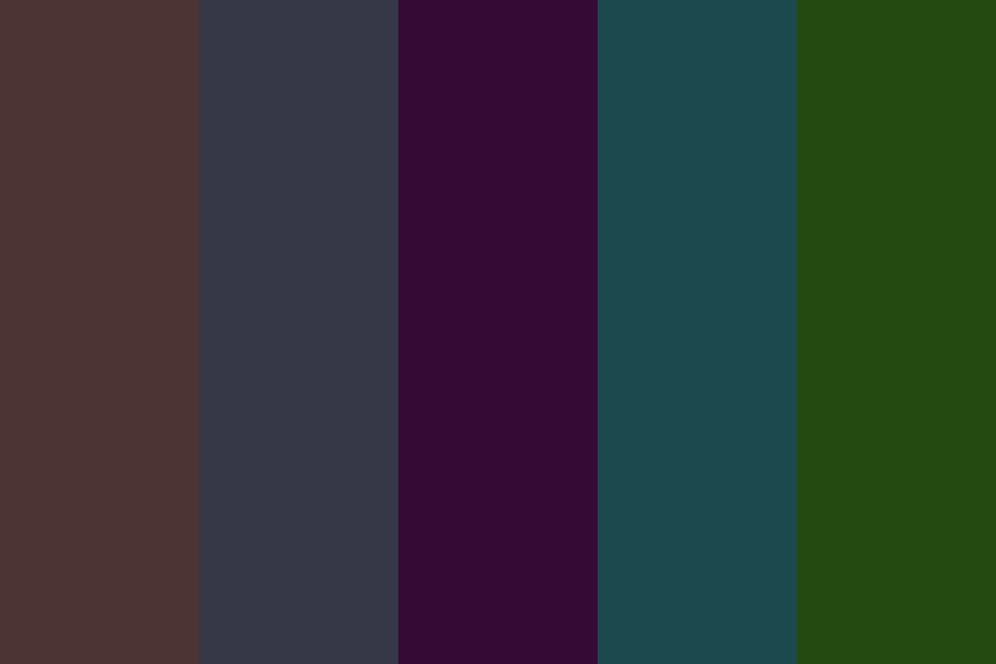 Dark Colors Somerset Color Palette