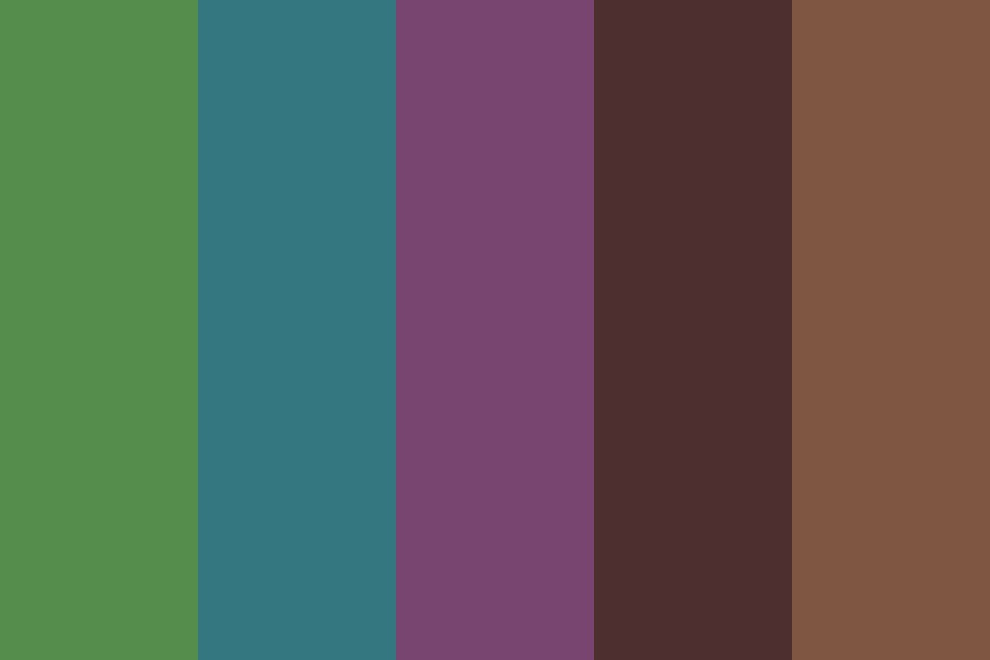 Dark Earth Boys Color Palette