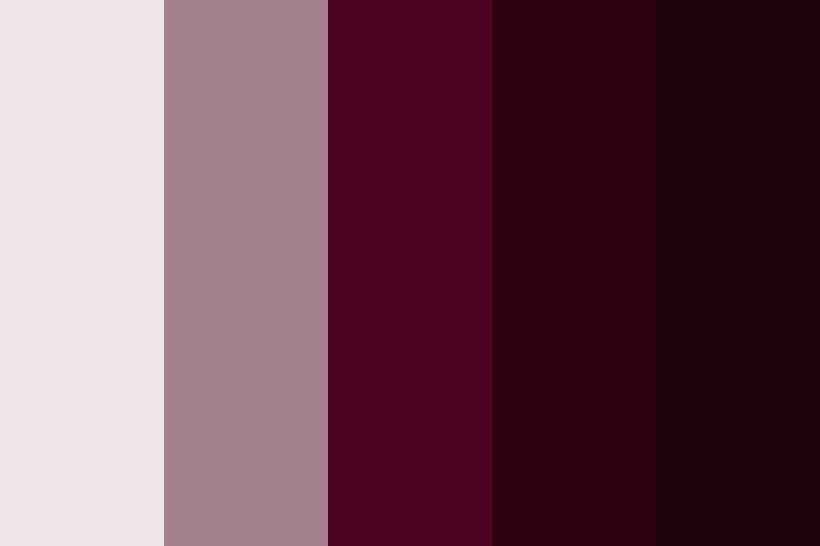 Dark Femininity Color Palette