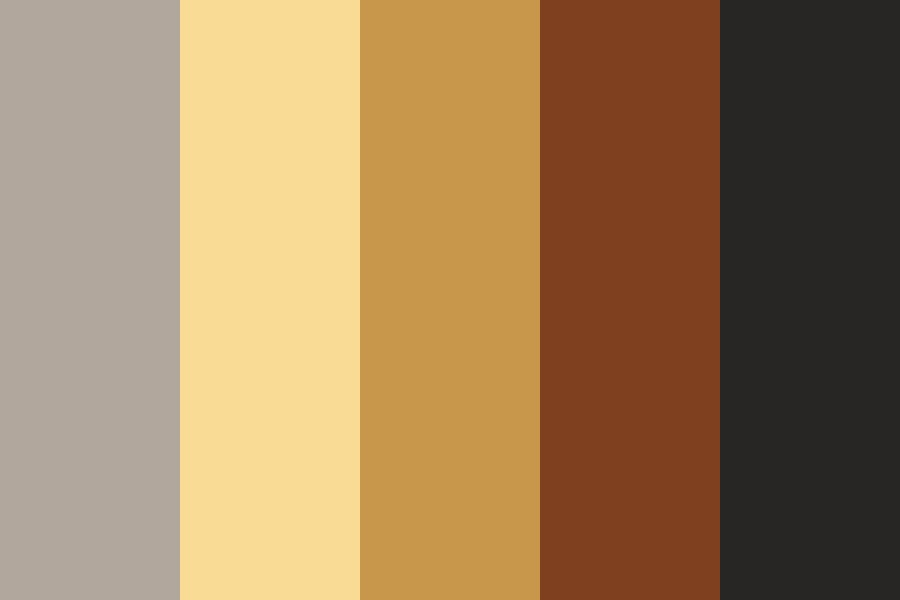 Dark Galactic Dust Color Palette