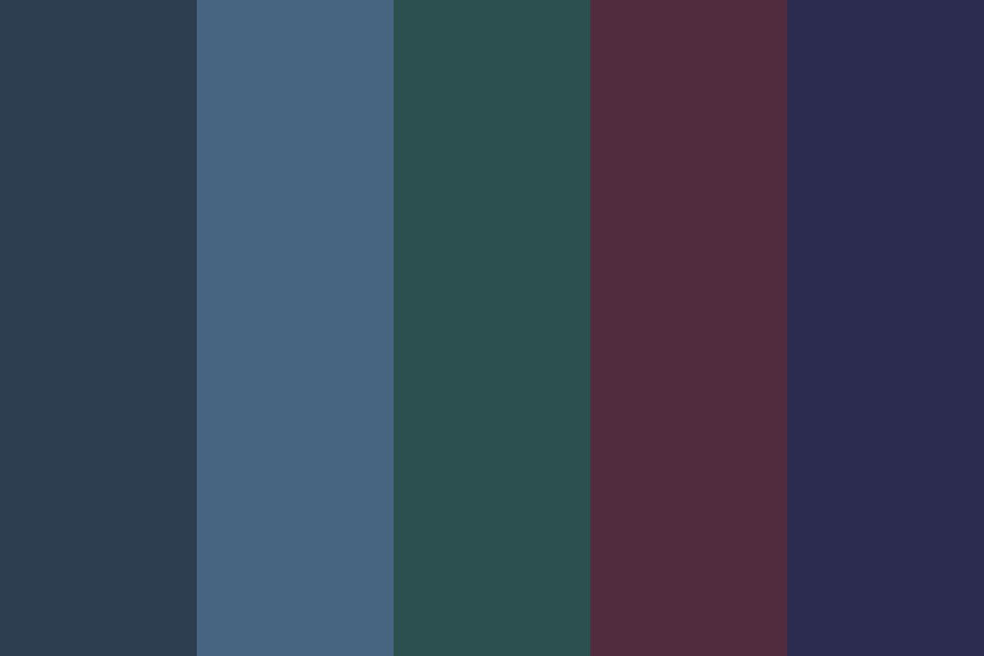 Dark Masculinity Color Palette