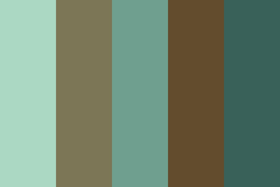 Dark Nature Color Palette