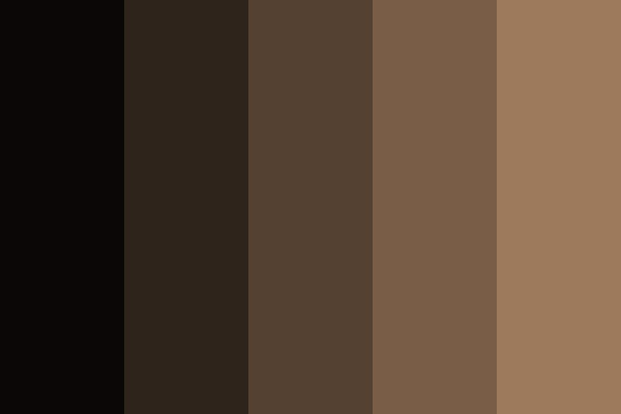 Dark Peaches Color Palette