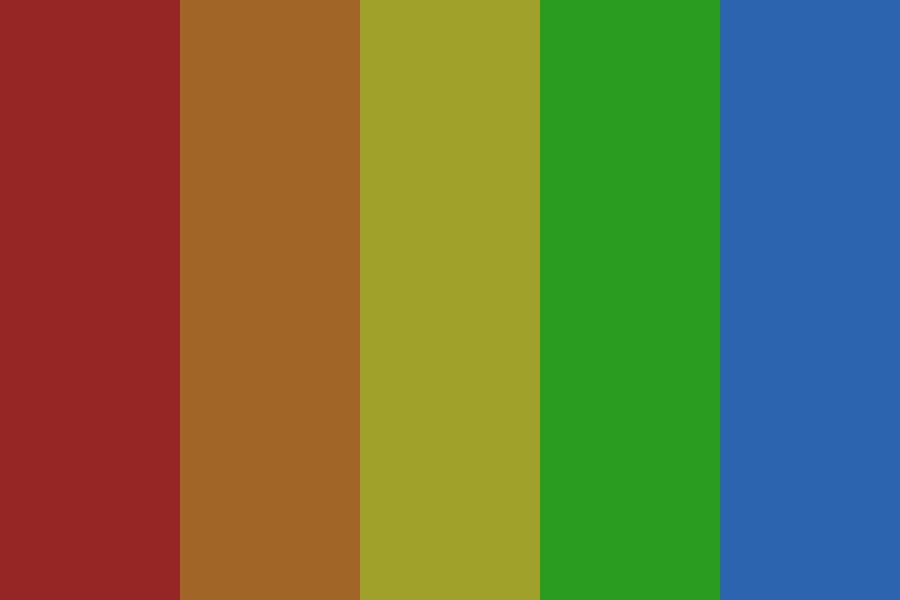 Dark Rainbow Xd Color Palette