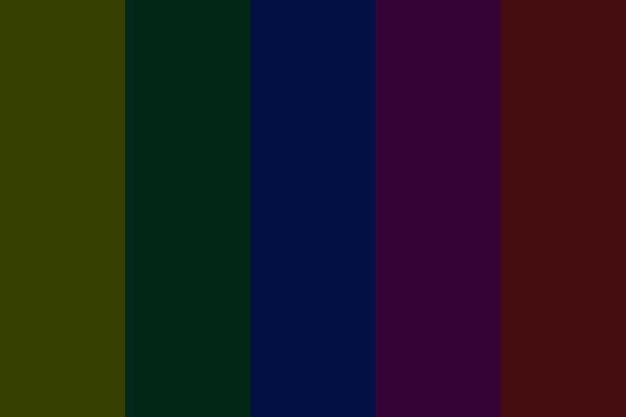 Dark Sabers Color Palette