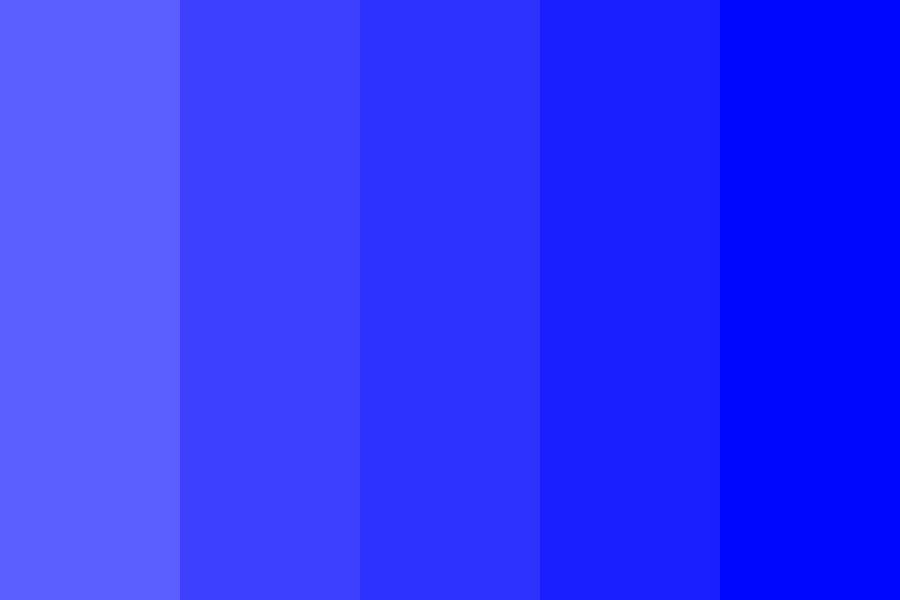 Dark Sea Blues Color Palette
