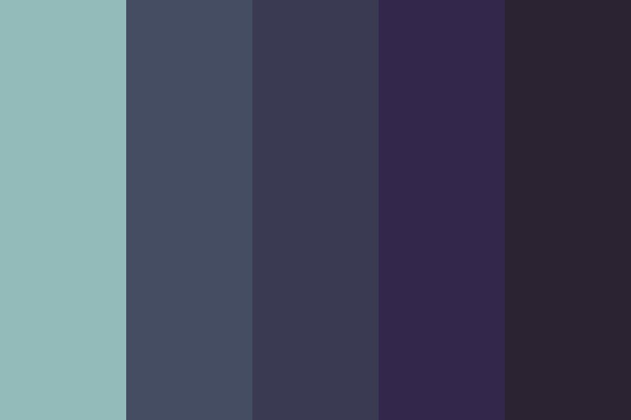 Dark Sea Color Palette
