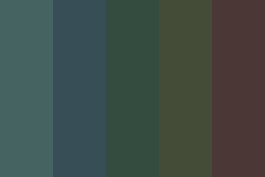 Dark Shadows Color Palette