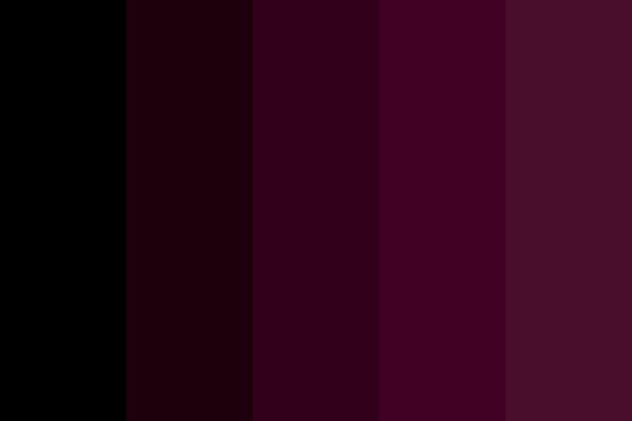 Dark Silk Color Palette