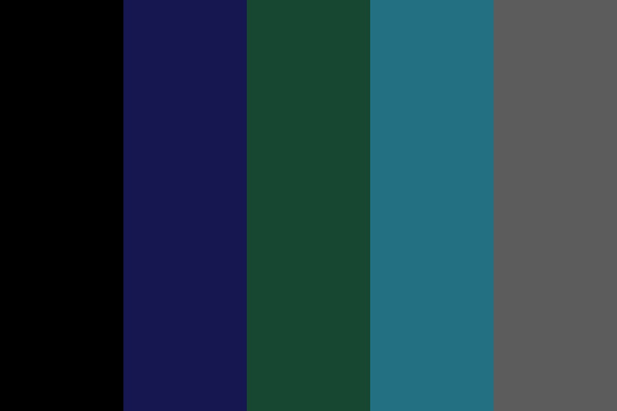 Dark Space Color Palette