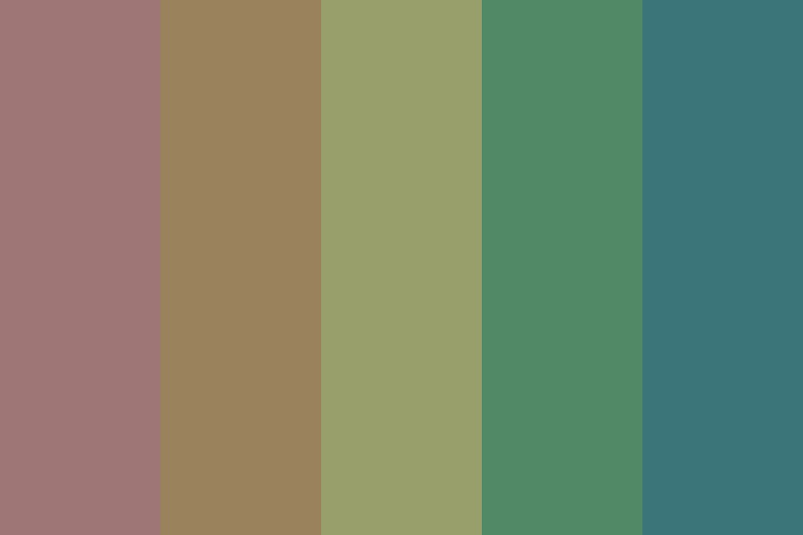 Dark Times Color Palette