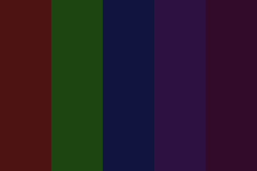 Dark Venom Color Palette