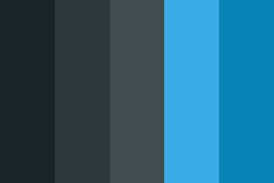 Darkandblue Color Palette