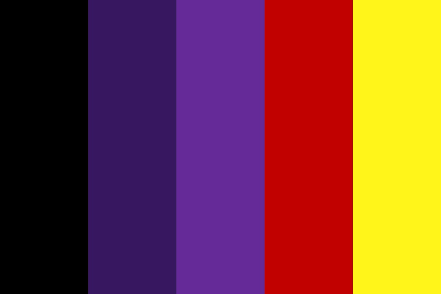 Darkburst Color Palette