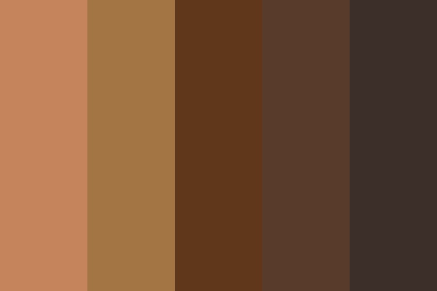 Darker Skin Color Color Palette