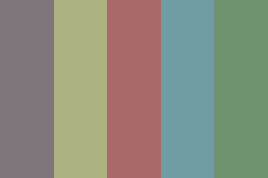 Darkershades Color Palette