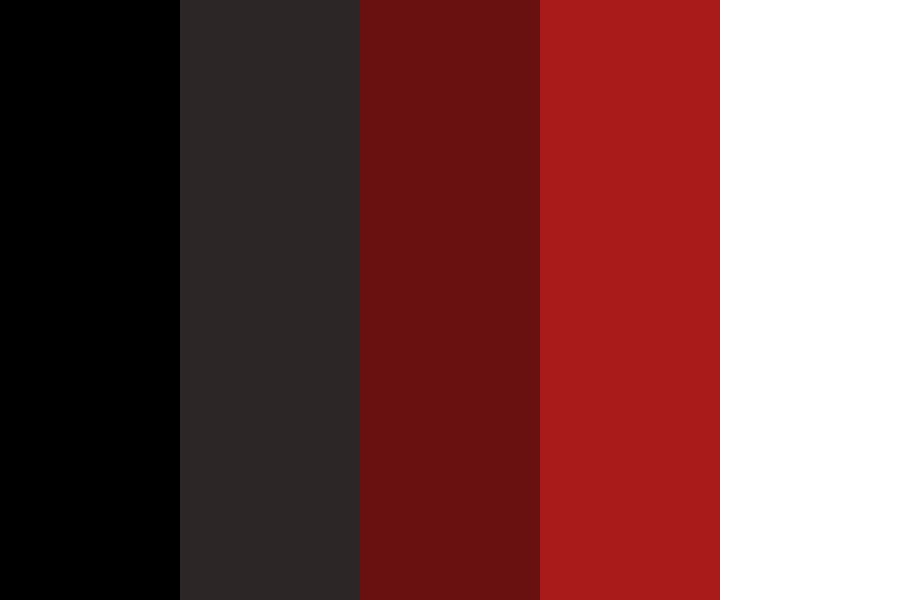 Darkness In Hell Color Palette