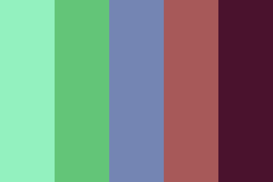 Darkside Summer Color Palette