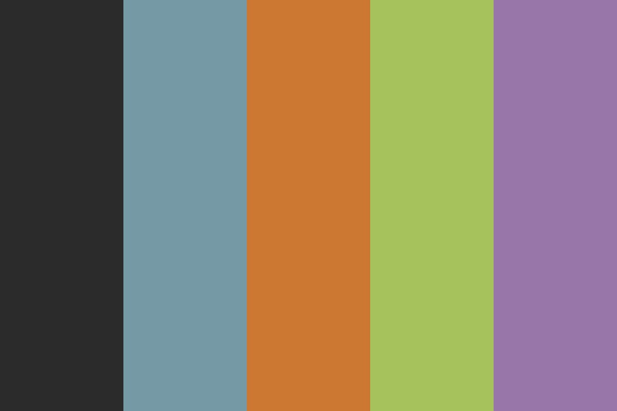 Darkula Color Palette