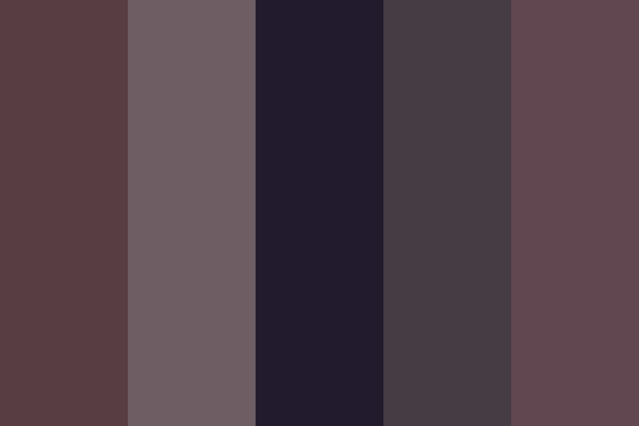 Darkwashed Society Color Palette
