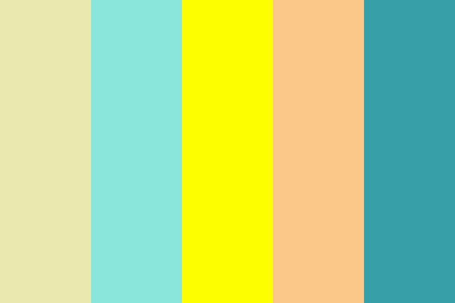 Day At The Ocean Color Palette