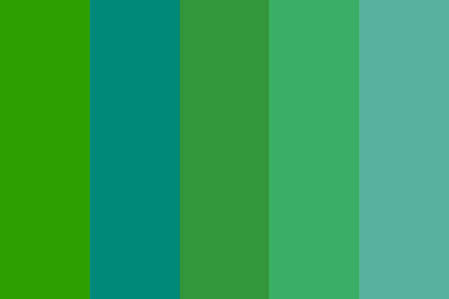 Day In The Rainforest Color Palette