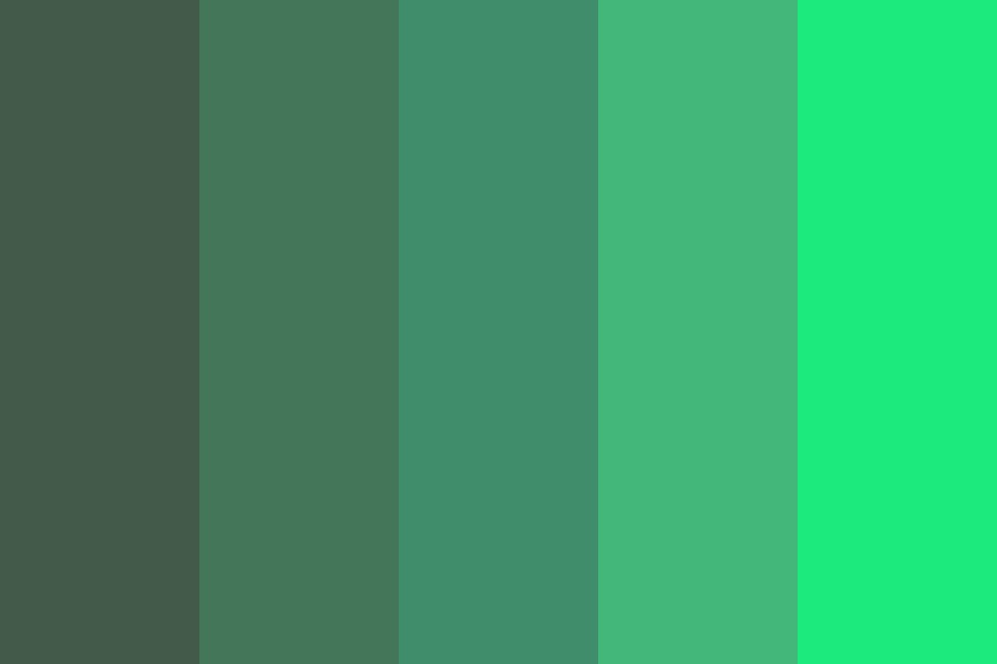 Daydream All Night Color Palette