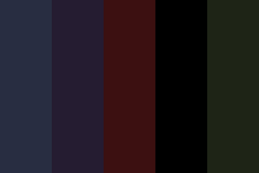 Death In Darkness Color Palette