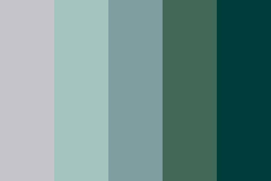 Deep In The Jungle Color Palette