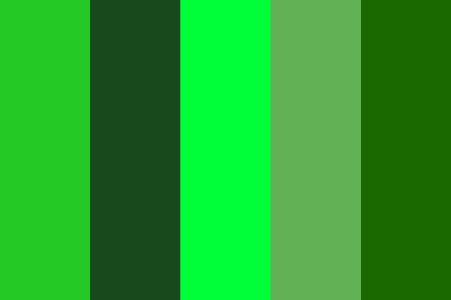 Deep Jungle Color Palette