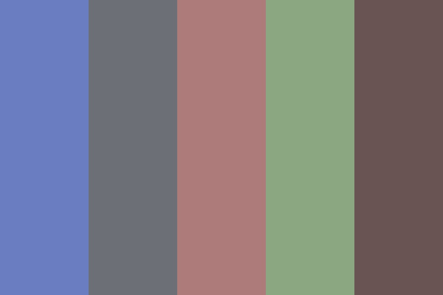 Deep Pastel Color Palette