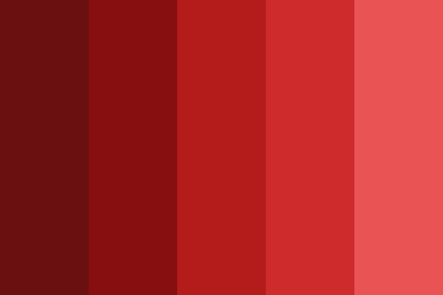 Deep Red Day Color Palette