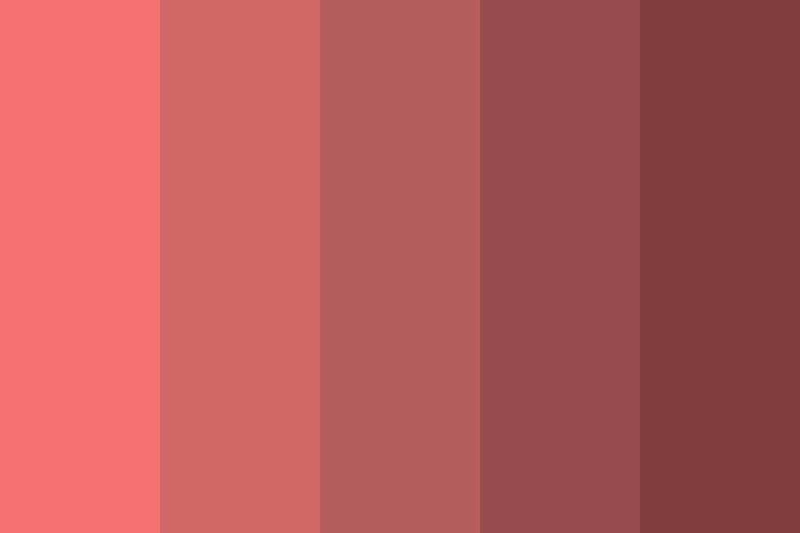 Deep Sea Corals Color Palette