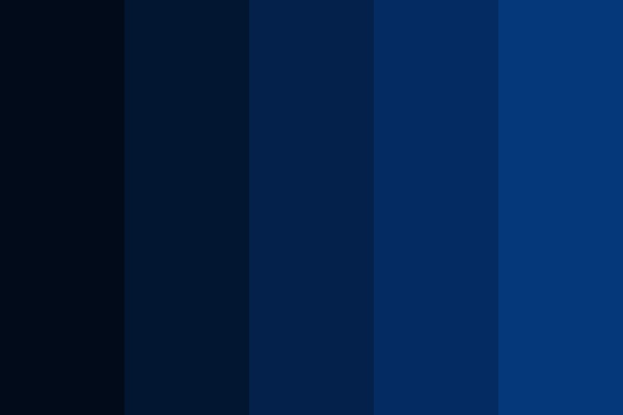 Deep Space Color Palette