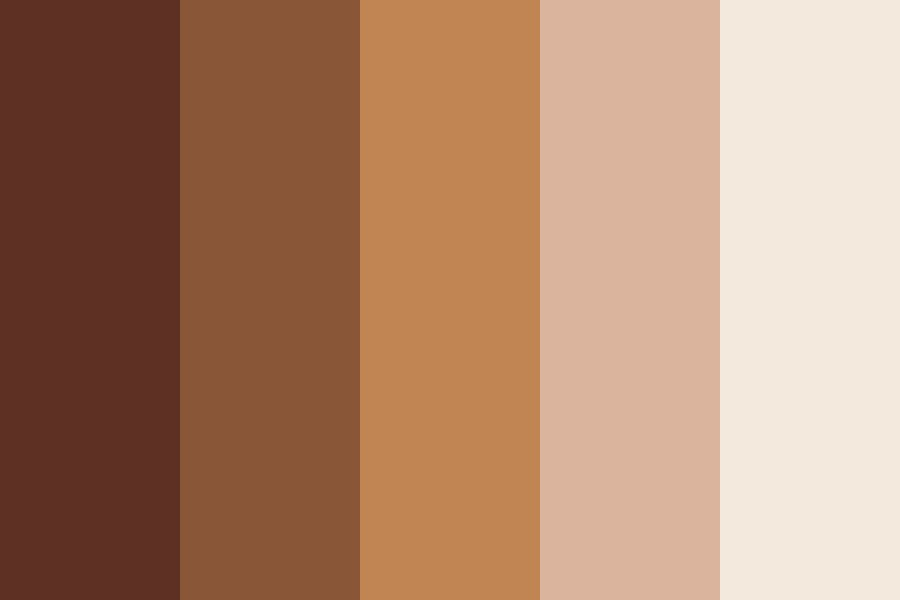 Deer Brown Color Palette