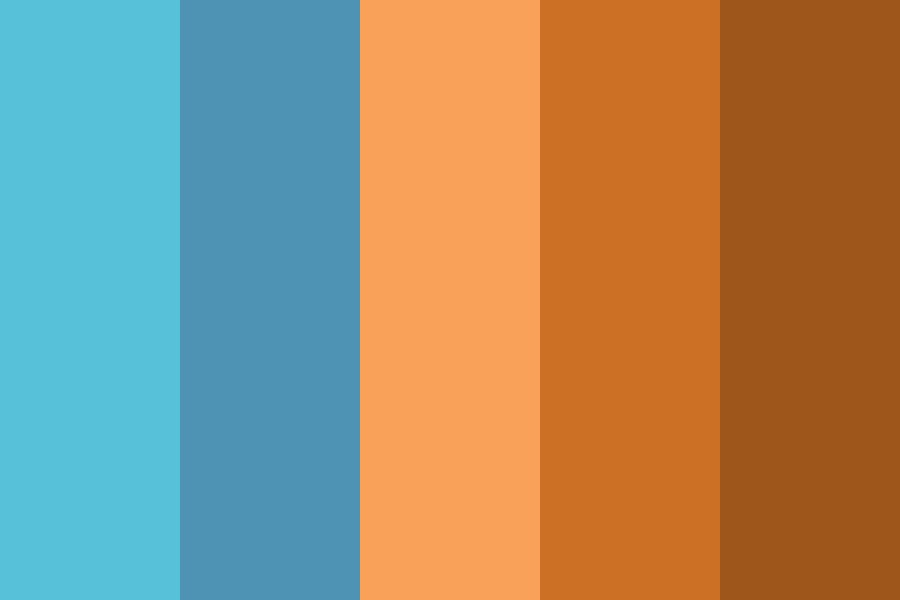Desert Level Color Palette