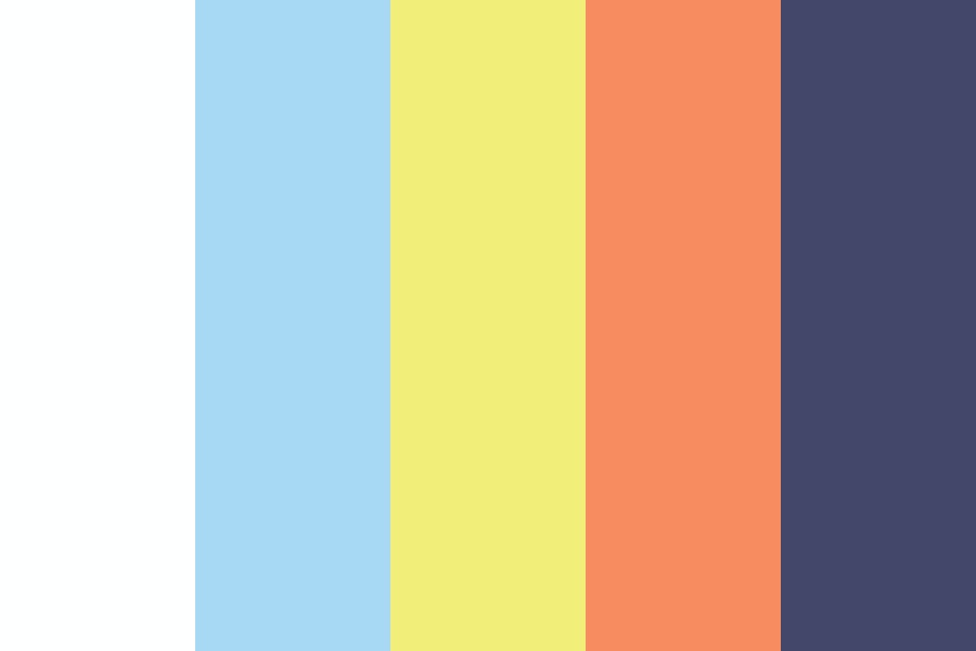 Desert Library Color Palette
