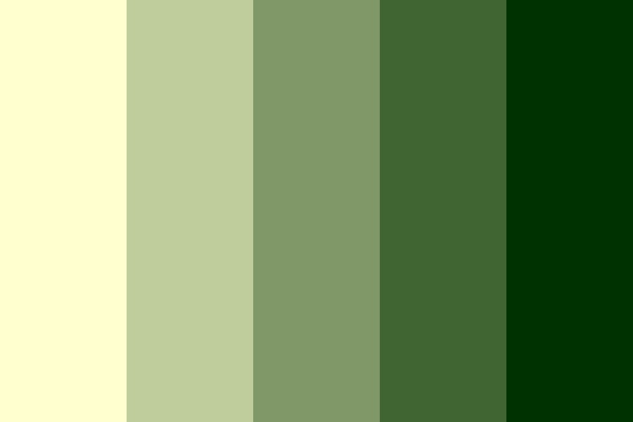 Desert Moss Color Palette