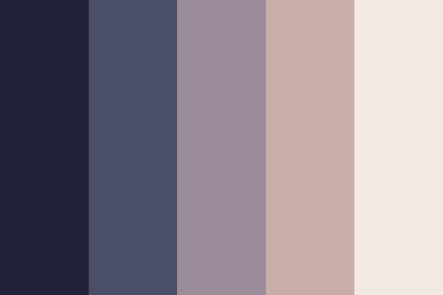 Desert Night Color Palette
