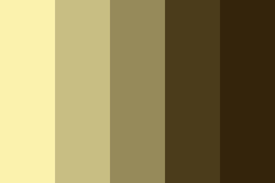 Desert Shades Color Palette