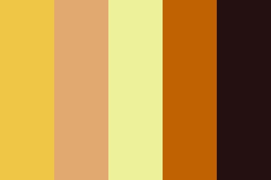 Desert Sun Color Palette