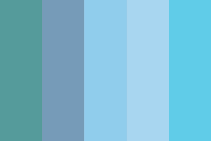 Dn Blue Color Palette