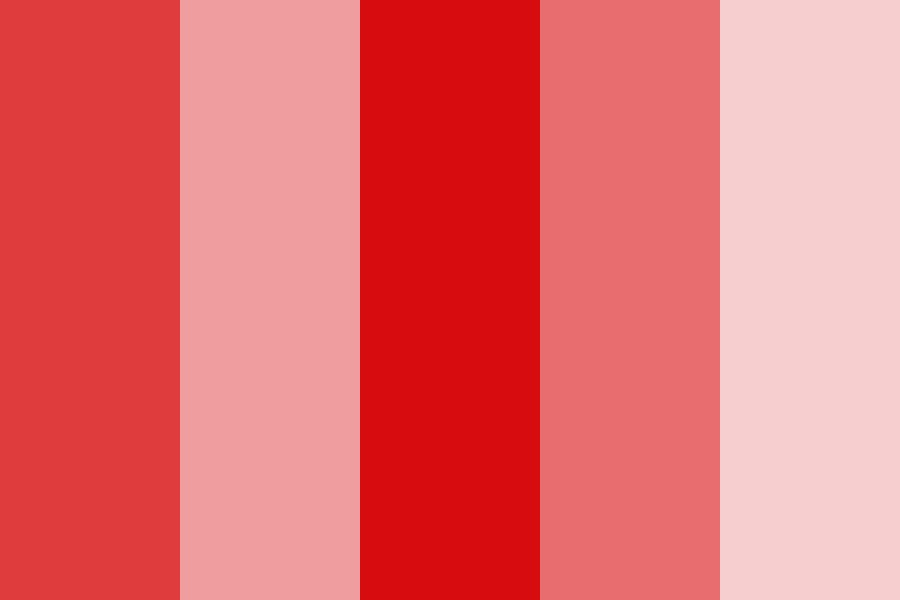 Dodie Red Color Palette
