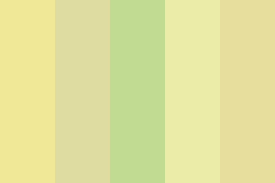 Dodie Yellows Color Palette