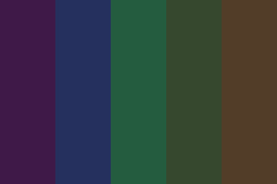 Dont Be Scared Color Palette