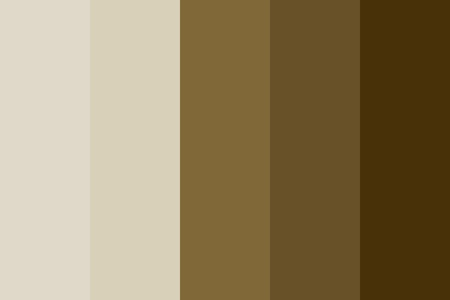 Down Earth Color Palette